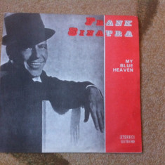 Frank Sinatra My Blue Heaven disc vinyl lp Muzica Jazz electrecord blues lounge pop, VINIL