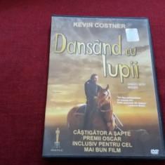 DVD FILM DANSAND CU LUPII - Film drama Altele, Romana
