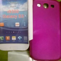 Capac spate Samsung S3 - Husa Telefon, Samsung Galaxy S3, Turquoise, Plastic