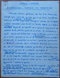 Manuscris Ovidiu S. Crohmalniceanu , Cronica literara , 9 pag. , A. E. Baconsky