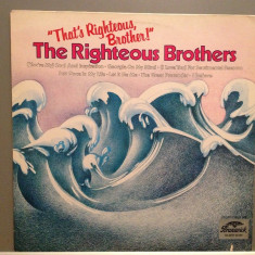 THE RIGHTEOUS BROTHERS - BEST OF (1967/MGM REC/RFG) - Vinil/Impecabil(NM) - Muzica Rock universal records