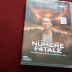DVD FILM NUMERE FATALE - Film actiune Altele, Romana