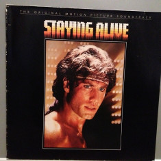 BEE GEES - STAYING ALIVE- Soundtrack(1983/RSO REC/RFG) - Vinil/POP/IMPECABIL(NM) - Muzica Pop universal records