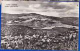 B98 RPR CP vedere circulata 1964 Vatra Dornei panorama, Fotografie