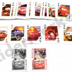 Carti de joc pentru copii - imprimeu Cars - Colectii