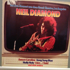 NEIL DIAMOND - GREEK THEATRE, LOS ANGELES (1972/MCA REC/RFG) - Vinil - Muzica Pop universal records