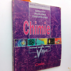 014. Chimie, manual pentru clasa a VII-a (Sanda Fatu) - Manual scolar corint, Clasa 7