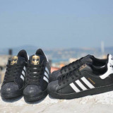 Adidasi / Adidas Superstar- Negru