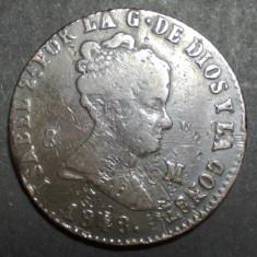 Spania 8 maravedis 1848, Europa