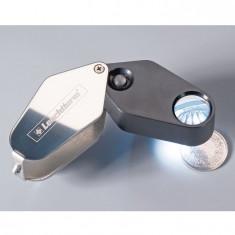 Lupa cu marire 10x si iluminare cu LED