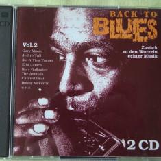 BACH TO BLUES II - 2 C D Originale ca NOI - Muzica Blues