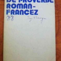 LICHIDARE-Dictionar de proverbe roman-francez - Autor : Elena Gorunescu - 83257 - Enciclopedie