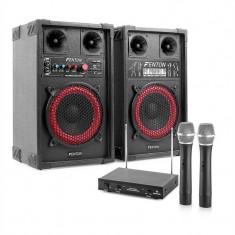 Star-Mitte set difuzoare karaoke microfon 400 W - Echipament karaoke