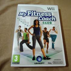My fitness Coach Club, pentru Wii, original, alte sute de jocuri! - Jocuri WII Ubisoft, Sporturi, 3+, Multiplayer