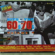 HITS OF THE 60's And 70's - 2 C D Originale ca NOI, CD