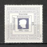 Germania.2008 125 ani nastere J.Ringelnatz-scriitor SG.1343 - Timbre straine, Nestampilat