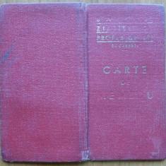 Carte de Membru al Sindic. Ziaristilor Profesionisti, Grogorescu Mircea, 1947 - Autograf