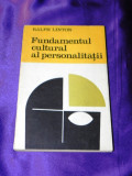 Ralph Linton - Fundamentul cultural al personalitatii (f0879