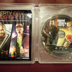 Joc Grand Theft Auto Liberty City Stories, PS3, original, Alte sute de jocuri! - Jocuri PS3 Rockstar Games, Shooting, 18+, Single player