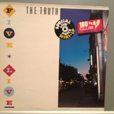 THE TRUTH - FIVE LIVE (1984/IRS REC/ENGLAND) - Vinil/ROCK/Impecabil(NM) - Muzica Rock Columbia