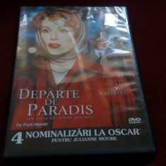 DVD FILM DEPARTE DE PARADIS - Film drama Altele, Romana