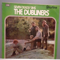 THE DUBLINERS - SEVEN DEADLY SINS(1968/EMI REC/ENGLAND) - Vinil/IMPECABIL(NM) - Muzica Folk emi records