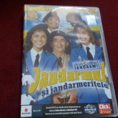 DVD FILM JANDARMUL SI JANDARMERITELE - Film comedie, Romana