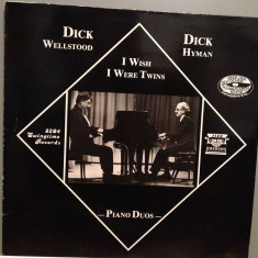 D.WELLSTOOD/D.HYMAN - PIANO DUOS (1983/SWINGTIME/RFG) - Vinil/JAZZ/Impecabil(NM) - Muzica Jazz universal records