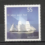 "Germania.2008 50 ani nava scoala ""Gorch Fock"" SG.1344 - Timbre straine, Nestampilat"