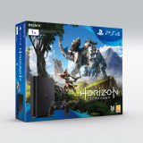 Sony Consola PS4 1TB Black Slim + Horizon Zero Dawn+ Abonament 3 luni PS+