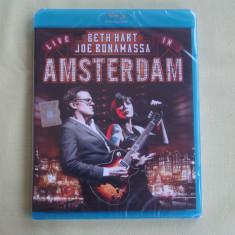 Blu-ray BETH HART And JOE BONAMASSA - Live In Amsterdam 2013 - NOU Sigilat, BLU RAY, universal records