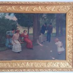 Tablou litografie carton gros SKUTEZKY DOME 1902 - Reproducere