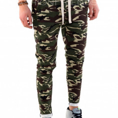 Pantaloni de trening camuflaj - COLECTIE NOUA - pantaloni barbati - 7913, Marime: S, M, L, XL, Culoare: Din imagine
