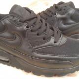 Adidasi Nike Air Max Barbati Negru Total - Adidasi barbati Nike, Marime: 43, 44, Culoare: Din imagine, Textil