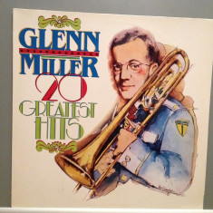 GLENN MILLER - 20 GREATEST HITS (1978/MP REC/HOLLAND) - Vinil/Impecabil(NM) - Muzica Jazz Altele