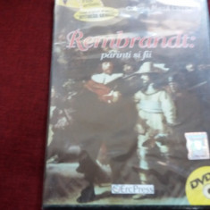 DVD FILM REMBRANDT PARINTII SI FII SIGILAT - Film drama Altele, Romana