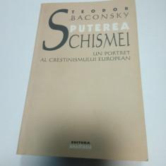 PUTEREA SCHISMEI - Un portret al crestinismului european - Teodor BACONSKY - Carti Crestinism