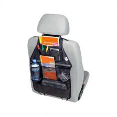 Organizator scaun auto Kegel pentru spatarul scaunului din fata, cu 7 buzunare, 55 x 40 cm