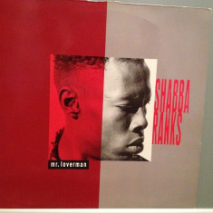 SHABBA RANKS - MR.LOVERMAN (1992/EPIC REC/GERMANY) - Vinil/IMPECABIL(NM) - Muzica Reggae