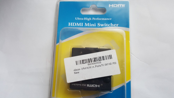 Switch hdmi 3.1 (1out  3 in) profesional 1 intrare si 3 iesiri