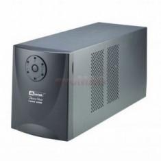 UPS Mustek PowerMust 1400 USB, fara acumulatori, garantie 12 luni., Cu management, Intre 1000 si 2499 VA, Protectie supratensiune