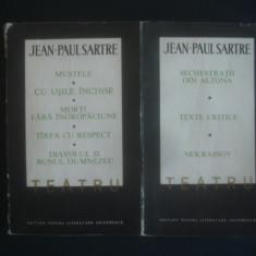 JEAN PAUL SARTRE - TEATRU 2 volume - Carte Teatru