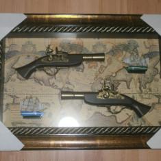 Panoplie arme clasice cu doua pistoale