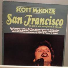 SCOTT McKENZIE - SAN FRANCISCO (1967/EPIC /HOLLAND) - Vinil/Vinyl/Impecabil (NM) - Muzica Rock