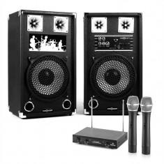 PA Karoke Set 3x8