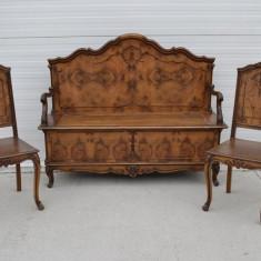 Bancuta cu 2 scaune