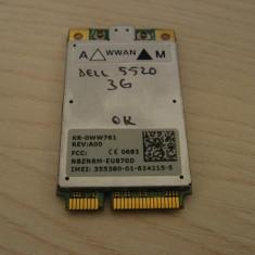 Placa wireless 3g HSPDA WWAN laptop Dell 5520 KR-0WW761 Dell Inspiron
