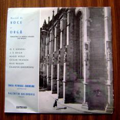 Disc vinil_E. Petrescu si V. Gheorghiu_recital voce si orga * cod 1 - Muzica Opera electrecord