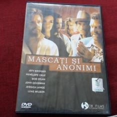DVD FILM MASCATI SI ANONIMI - Film drama, Romana
