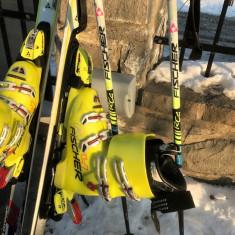 Schiuri clapari calitate FIS de la instructor schi - Set ski Fischer